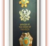 OFFICER OF THE ORDER OF VOLTA Ghana National Award