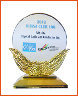 Tropical Cables in Ghana Club 100