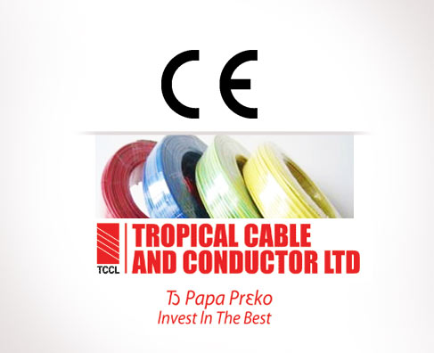 TROPICAL CABLE housewiring cables are CE marked